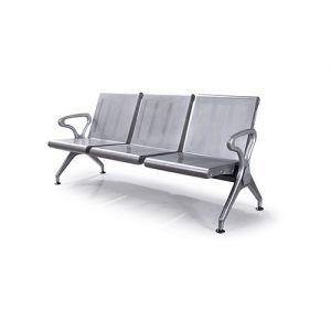 Powder Coated Steel Airport Waiting Chair T25